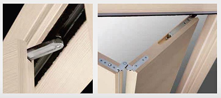 Sp porte e finestre in pvc laminato legno e laccato for Porta a libro non si chiude