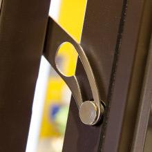 Sp porte e finestre pvc roma sikur 4 - Limitatore apertura porta blindata ...