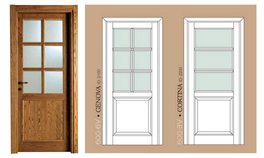 Porte In Legno Massello : Sp porte porte in legno massello classiche o moderne