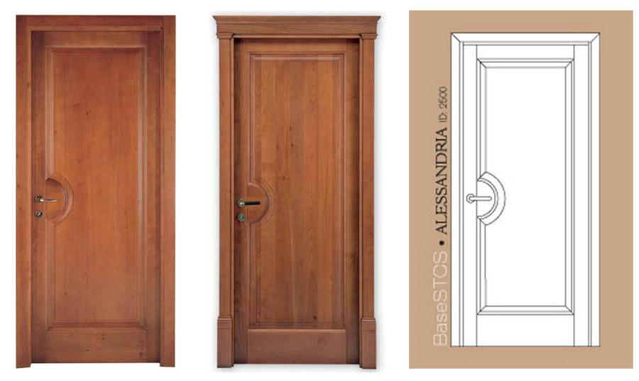 Sp porte porte in legno massello classiche o moderne - Stipiti porte interne ...