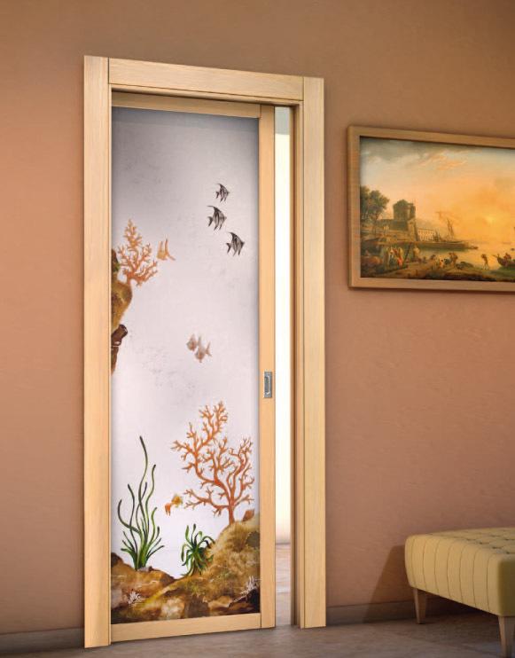 Sp porte interne in laminato legno massello vetro - Porte scorrevoli per interno ...